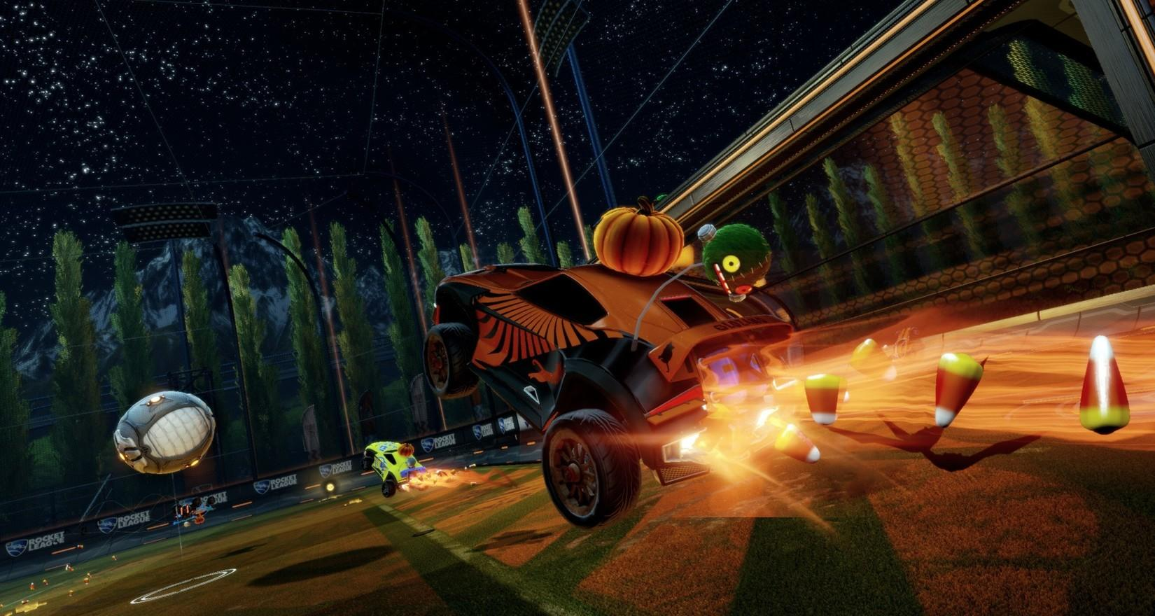 Free Halloween Items Coming to Rocket League Image