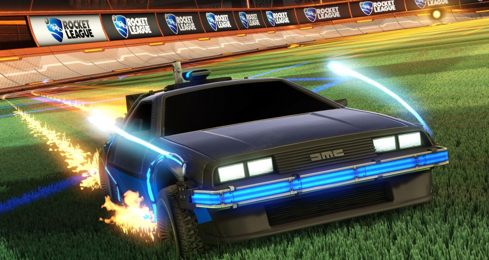 Rocket League Goes Back to the Future! Image