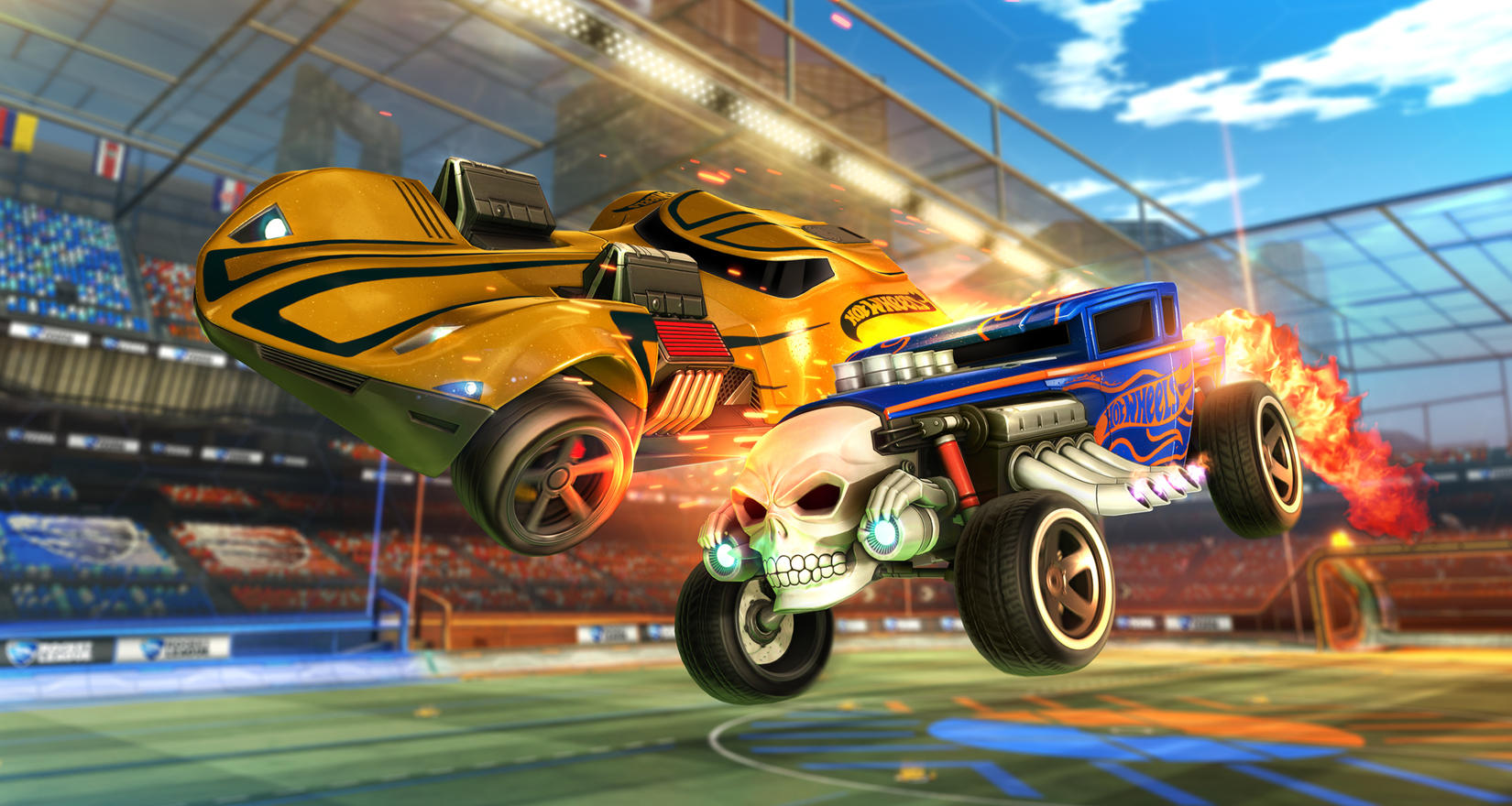 Hot Wheels Coming to Rocket League Image