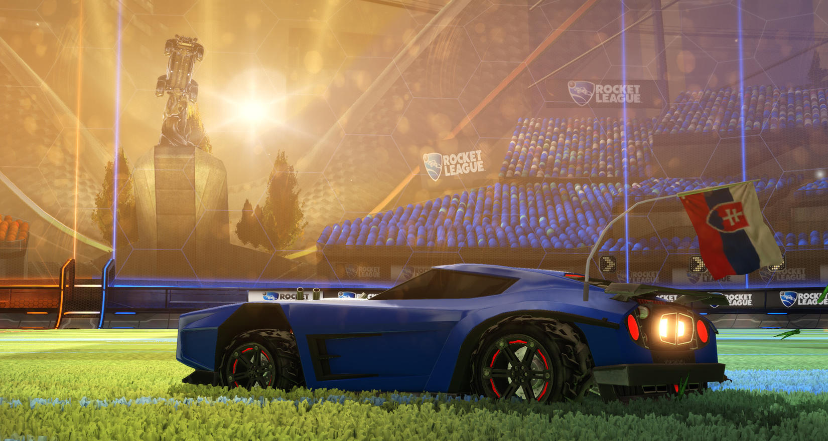 ESPN and Rocket League Pros <br> Simulate the EURO Image